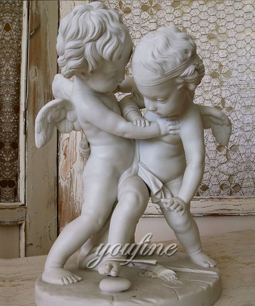 Baby angel figurines Marble Statues for decoration