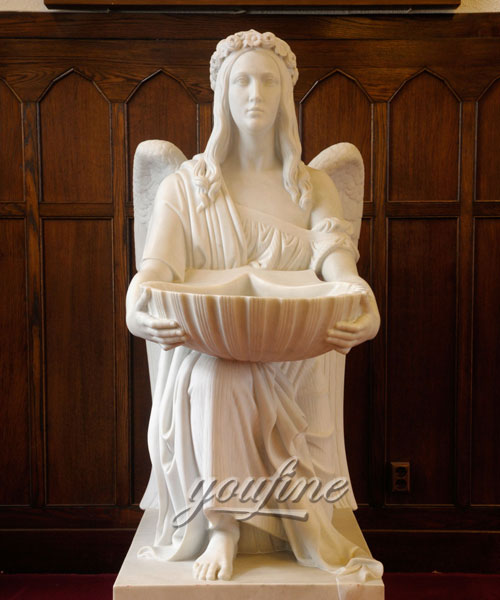 Beautiful angel statue Marble Statues for home decoration
