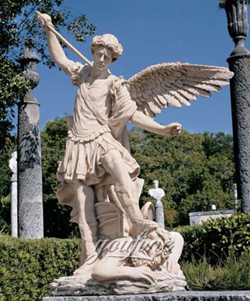Design toscano st. michael the archangel garden angel statue for sale