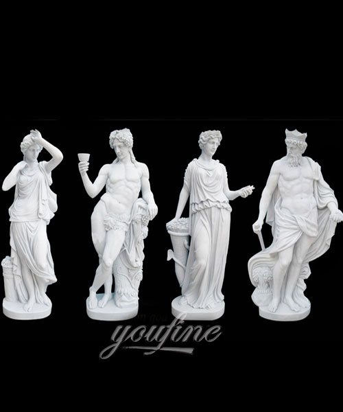 Factory Direct Sale Life Size Four Seasons Women on Stock for sale