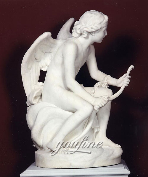 Large garden angel sculpture life size marble statues for sale