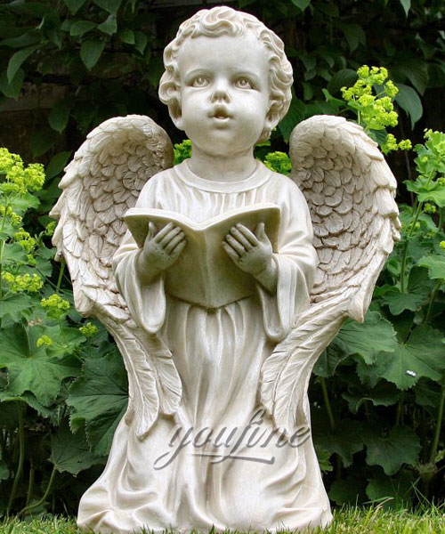 Outdoor garden decor baby angel statue for sale
