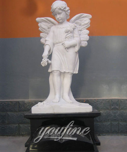 Baby angel cemetery monuments design for sale