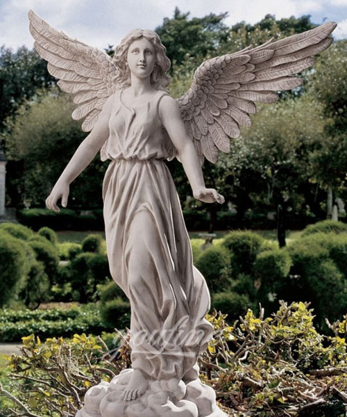 Design toscano marble angel of patience statue