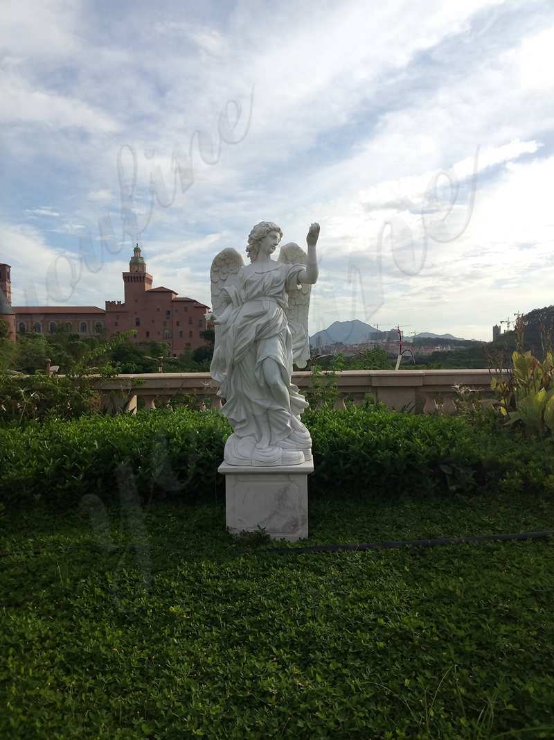 Outdoor Marble Statues Decor Life Size Stone