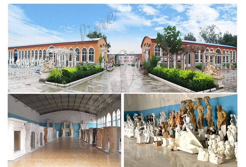 Outdoor Marble Statues Decor Life Size Stone Large