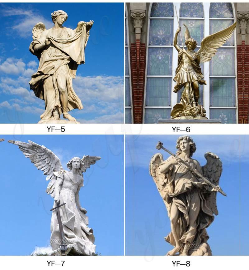 Large Avenger Angel Marble Statue Square Ornaments BOKK-265