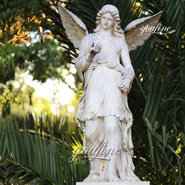 Large Angel Marble Statue for Garden Decoration Sale MOKK-242