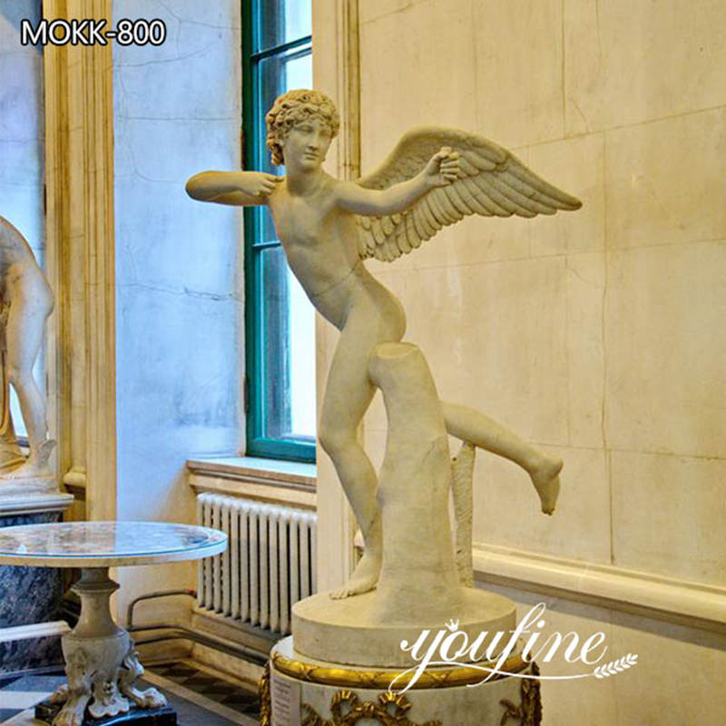 Marble Angel Cupid Statues Life Size for Sale MOKK-800