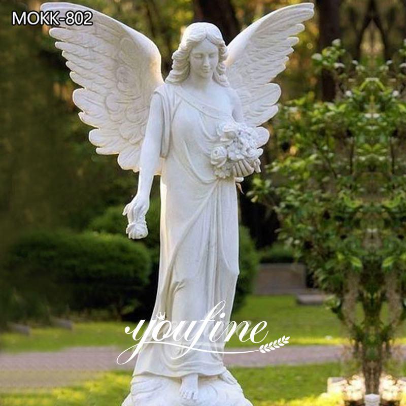 Size Marble Angel Statue for Sale MOKK-802