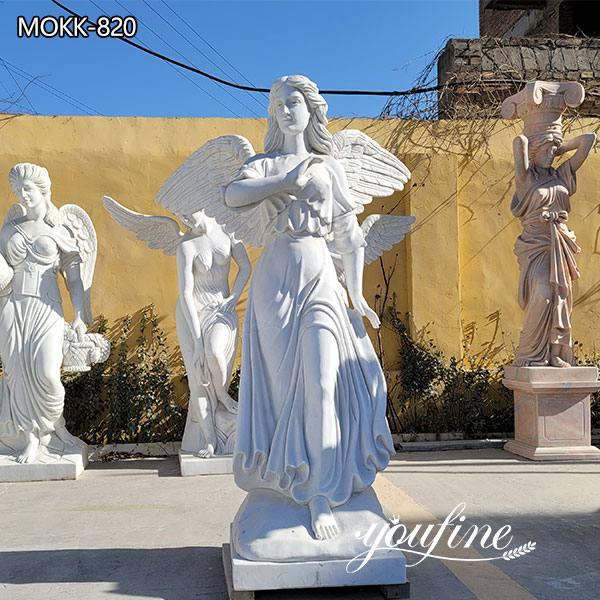 Large Size Marble Angel Statue for Garden Decoration MOKK-820