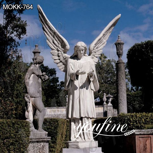 Large Size Memorial Marble Angel Statue for Sale MOKK-764